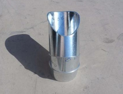 大渡口不锈钢异径三通接头螺旋风管配件