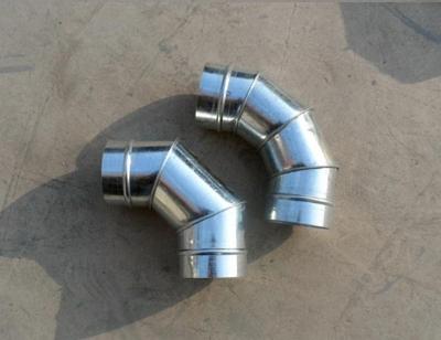 螺旋风管配件弯头加工